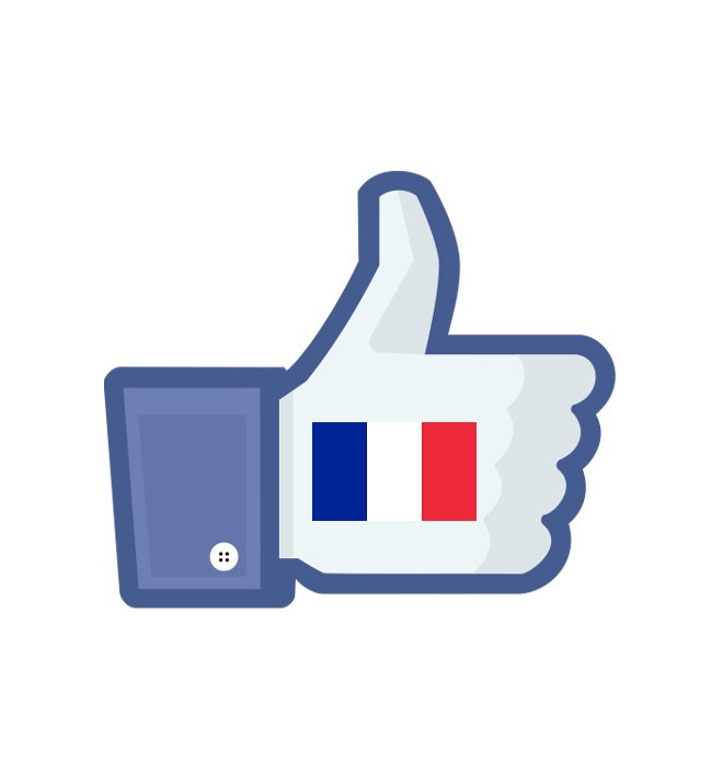 Französische Likes
